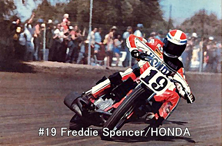 #19 Freddie Spencer HONDA
