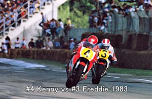 #4 Kenny vs #3 Freddie 1983