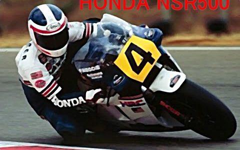 HONDA NSR500(1986年)世界グランプリ用のレーシングマシン