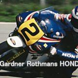 ワインガードナー(Rothmans HONDA NSR500)はモリワキから世界チャンピオン!ブルーサンダー!