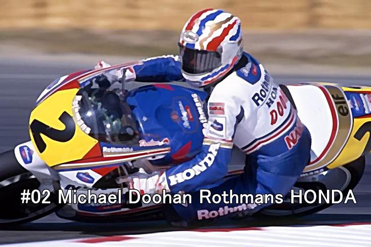 #02 Michael Doohan Rothmans HONDA