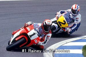 #1 Rainey vs #2 Doohan