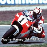 #1 Wayne Rainey YAMAHA YZR500