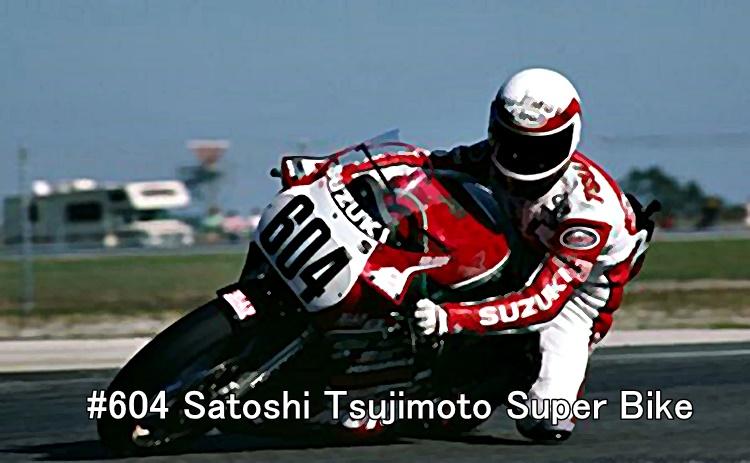 #604 Satoshi Tsujimoto Super Bike
