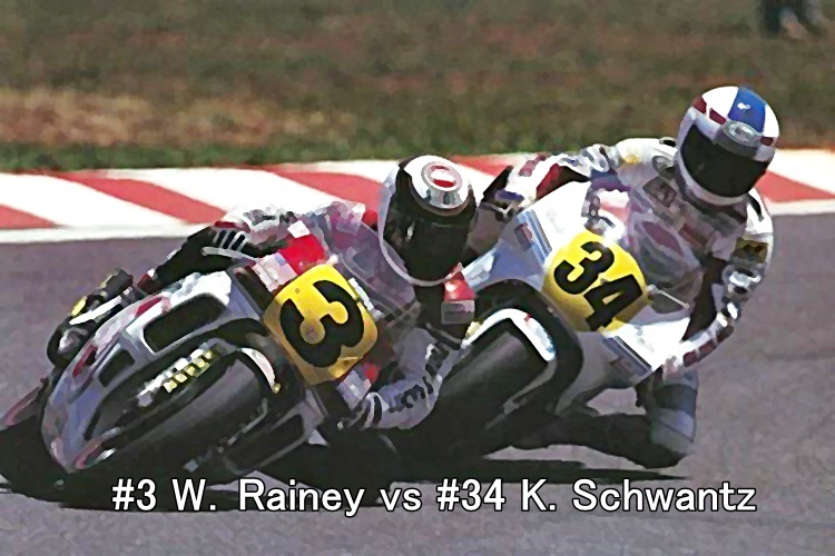 #3 W.Rainey vs #34 K. Schwantz