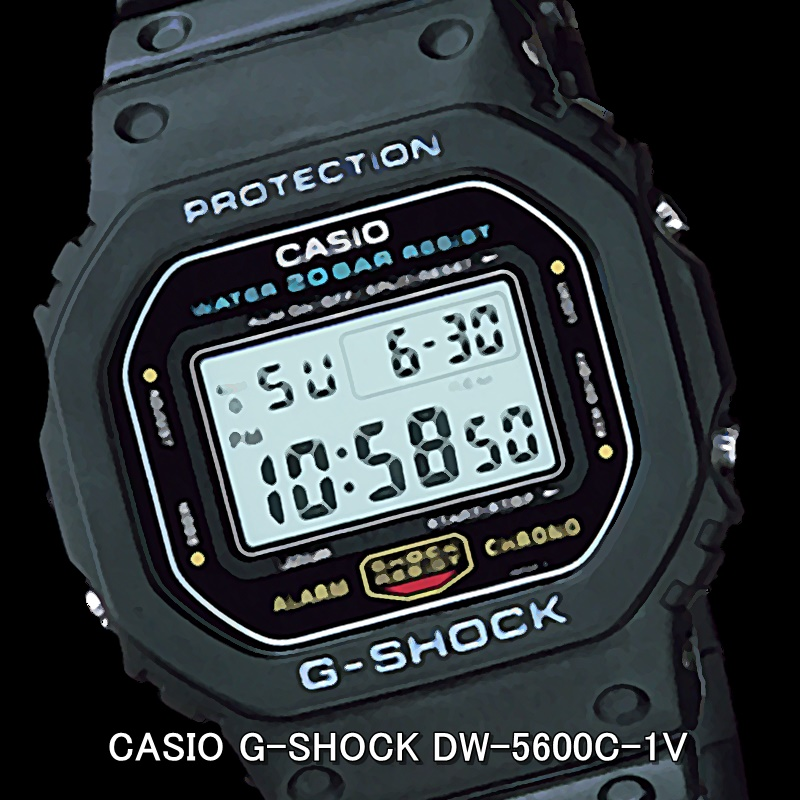 CASIO G-SHOCK DW-5600C-1V