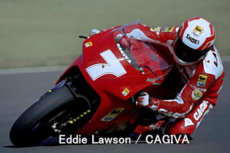 Eddie Lawson CAGIVA