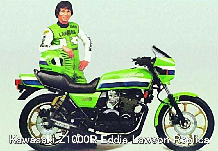 Kawasaki_KZ1000R Eddie Lawson Replica