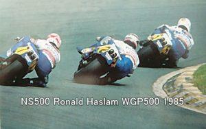 NS500 Ronald Haslam WGP500 1985