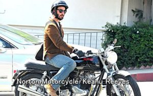 Norton Motorcycle Keanu Reeves