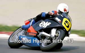 Ronald Haslam with elf3