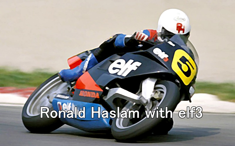 Ronald Haslam with elf3