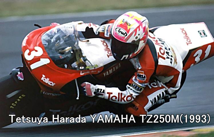 Tetsuya Harada YAMAHA TZ250M(1993)