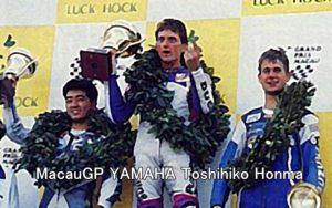 MacauGP YAMAHA Toshihiko Honma
