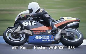 elf5 Ronald Haslam WGP500 1988 1