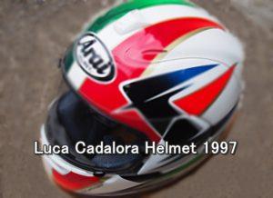 Luca Cadalora helmet 1997