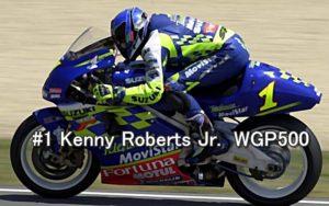 #1 Kenny Roberts Jr. WGP500 2001