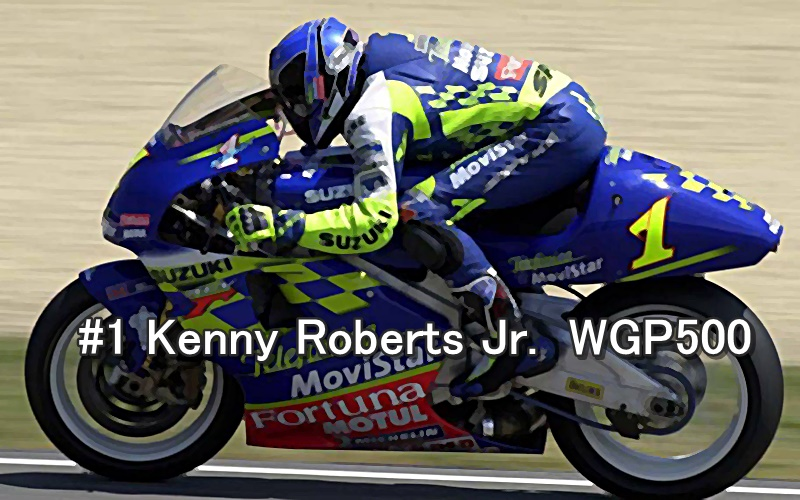 #1 Kenny Roberts Jr. WGP500 2001