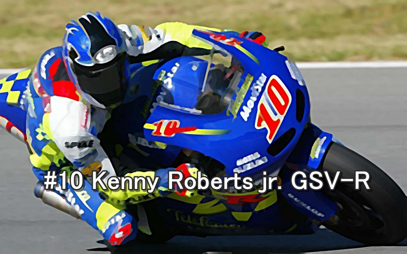 #10 Kenny Roberts jr. GSV-R