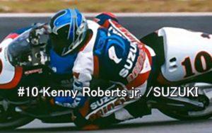#10 Kenny Roberts jr. SUZUKI