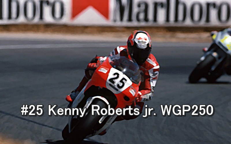 #25 Kenny Roberts jr. WGP250