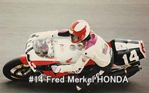 #14 Fred Merkel HONDA