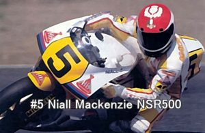 #5 Niall Mackenzie NSR500