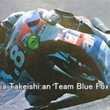 #8 Shinya Takeishi an Team Blue Fox HONDA