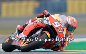 #93 Marc Marquez HONDA
