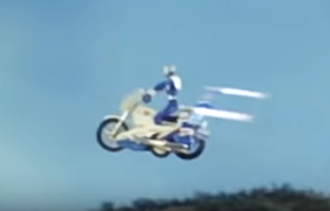 ダブルマシンが空を飛ぶ