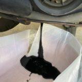 自分でやるバイクのオイル交換方法と廃油の処理方法(ホンダ トゥデイ)