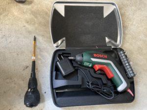 必要な工具